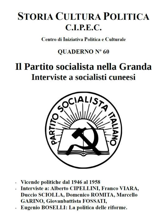 Quaderno CIPEC N. 60