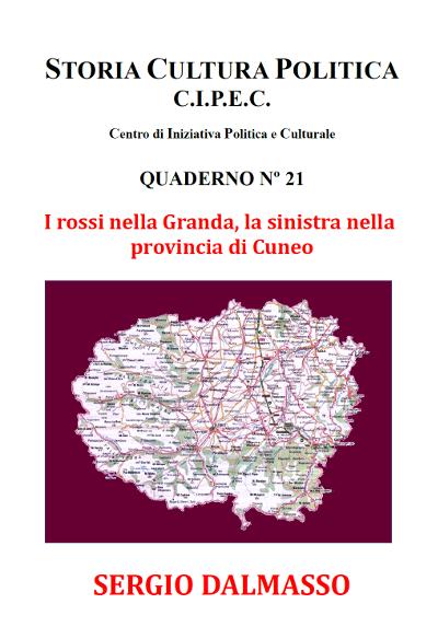 Copertina I del volume i Rossi nella Granda, la sinistra nella provincia di Cuneo