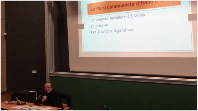 Sergio Dalmasso a Nizza - Seminario su Gramsci 2018
