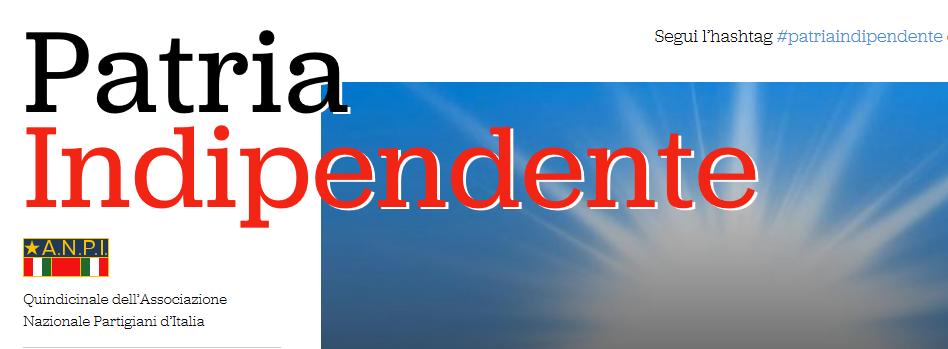 Quindicinale Anpi - Patria Indipendente