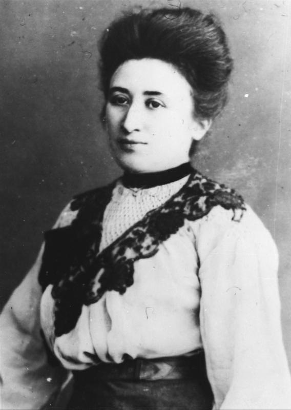Foto di Rosa Luxemburg 1896