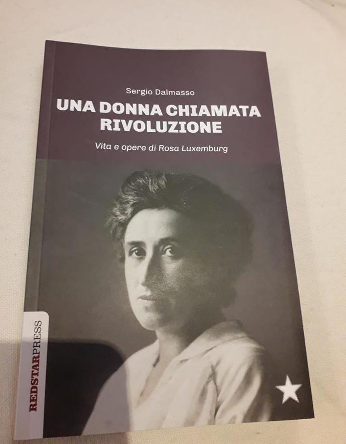 Libro di Sergio Dalmasso una donna chiamata rivoluzione. Vita e opere di Rosa Luxemburg