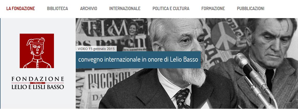 Fondazione Lelio e Lisli Basso