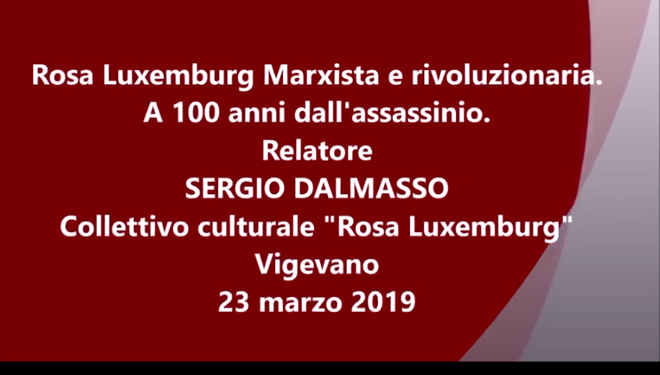 Conferenza Rosa Luxemburg Vigevano