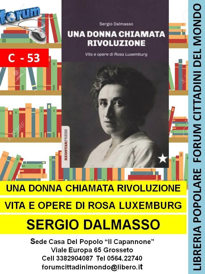 Locandina presentazione Rosa Luxemburg