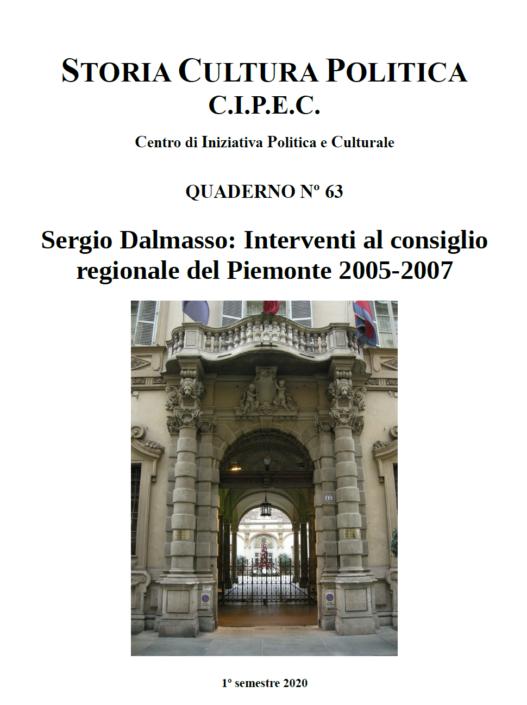 Copertina Quaderno Numero 63