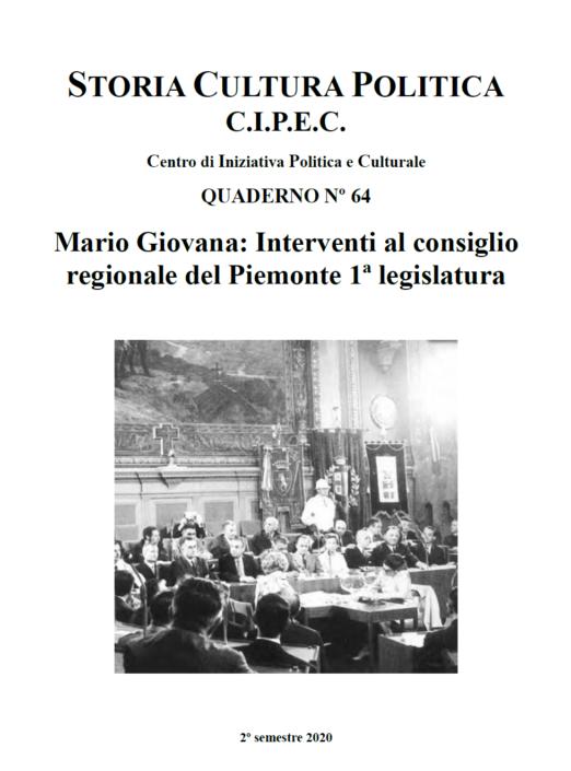 Quaderno CIPEC N. 64