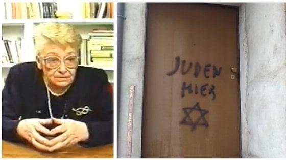 Lidia Beccaria Rolfi - Scritte antisemite e svastiche