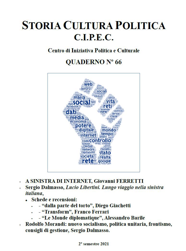 Quaderno CIPEC Numero 66