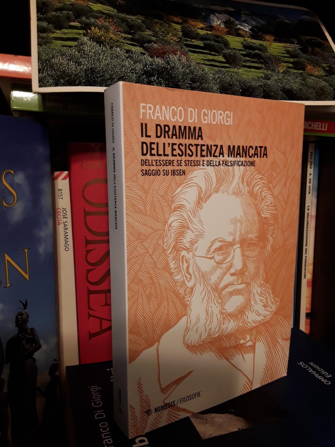 Foto del Libro di Franco Di Giorgi su Ibsen